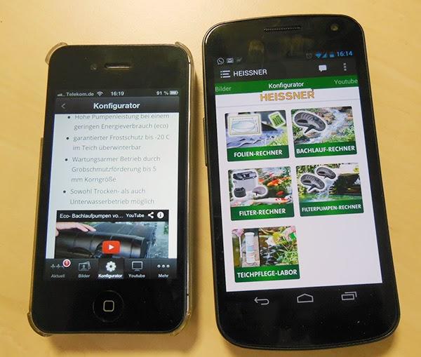 Heissner Smartphone-App