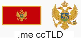 Domainendung Montenegro