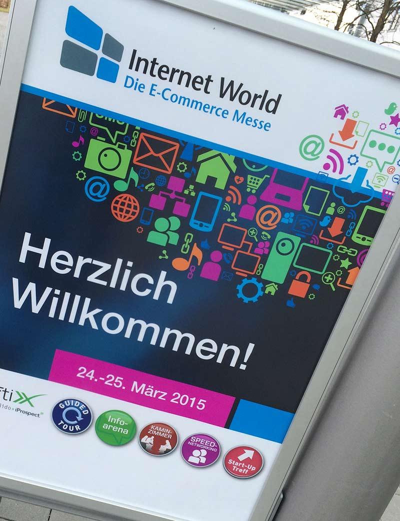 Internet World 2015 in München