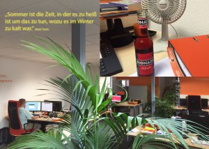 Sommer bei team digital