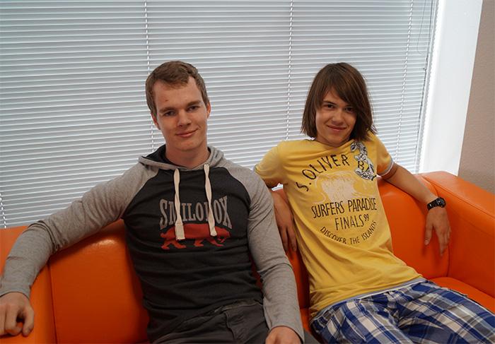 Neue Teammitglieder - Tim Büschken und Jannis Schneider