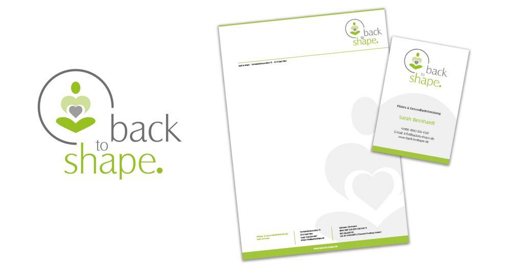 Logo, Briefpapier, Visitenkarte