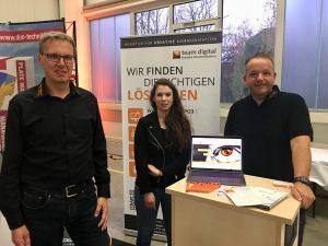 team digital auf der CheckdeinJob 2017