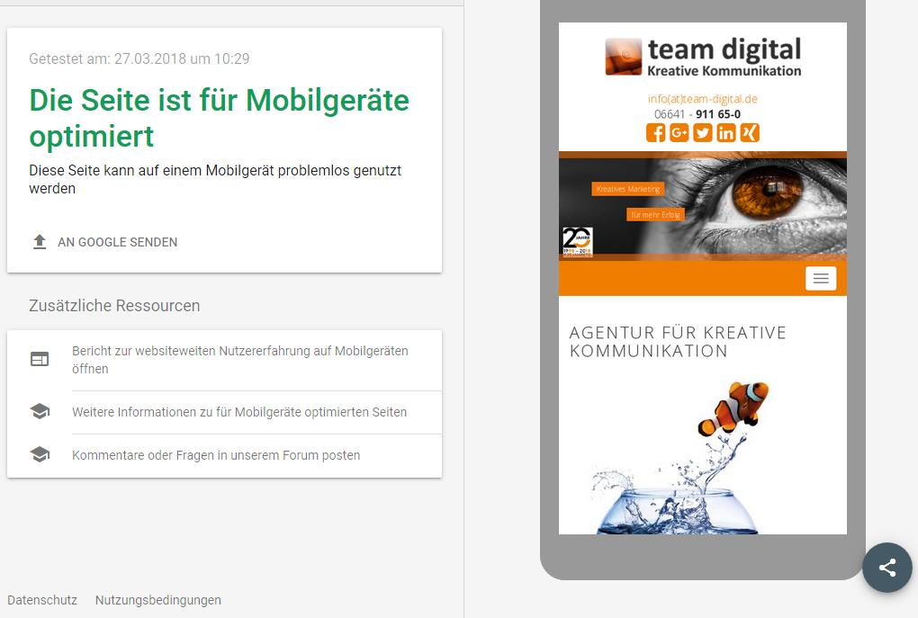 Googles Mobile-First -Index startet in Deutschland
