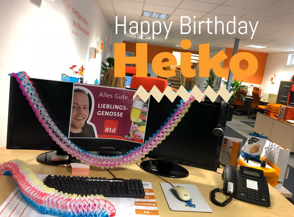 Happy Birthday Heiko