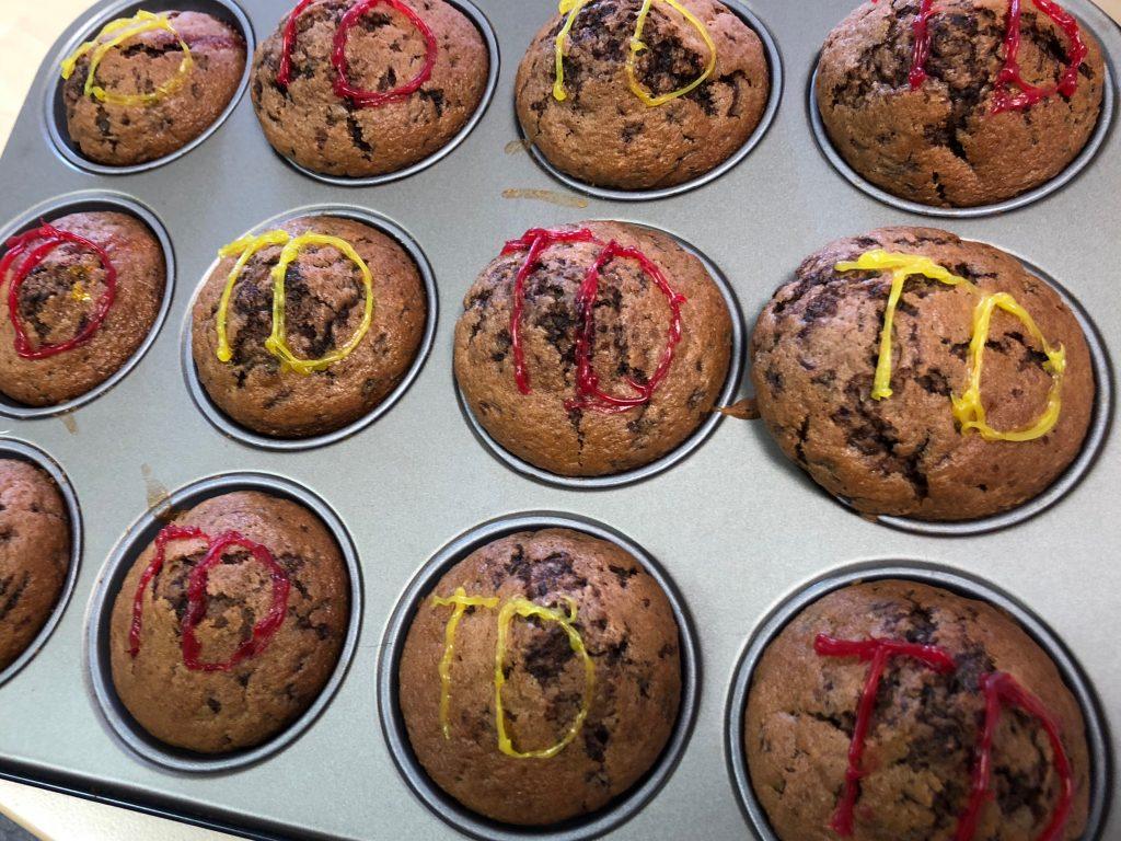 Muffins von Ami, danke...