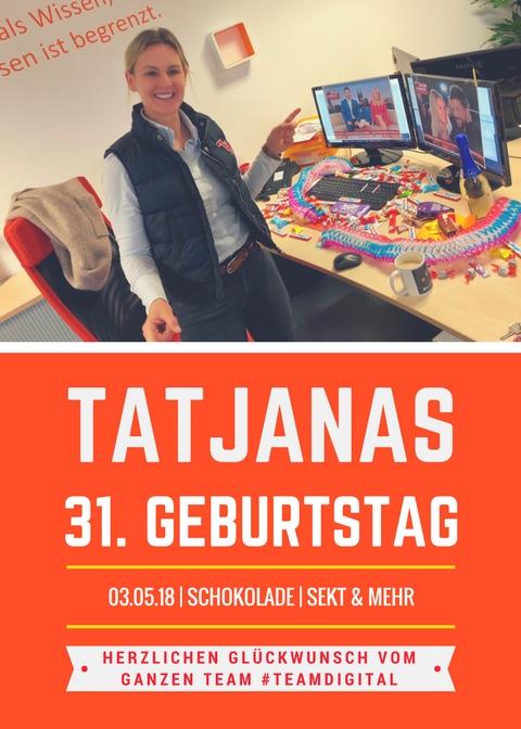 Happy Birthday Tatjana