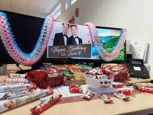 Geburtstagsvorräte für Laura bei team digital