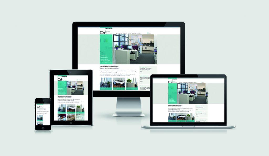TYPO3 Relaunch der Johann Wilhelm GmbH