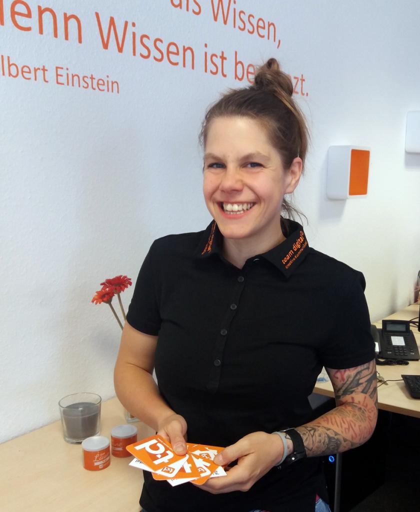 Ina Rehberger – Projektleitung team digital