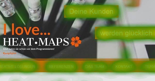 Heatmap Analysen kann man simulieren