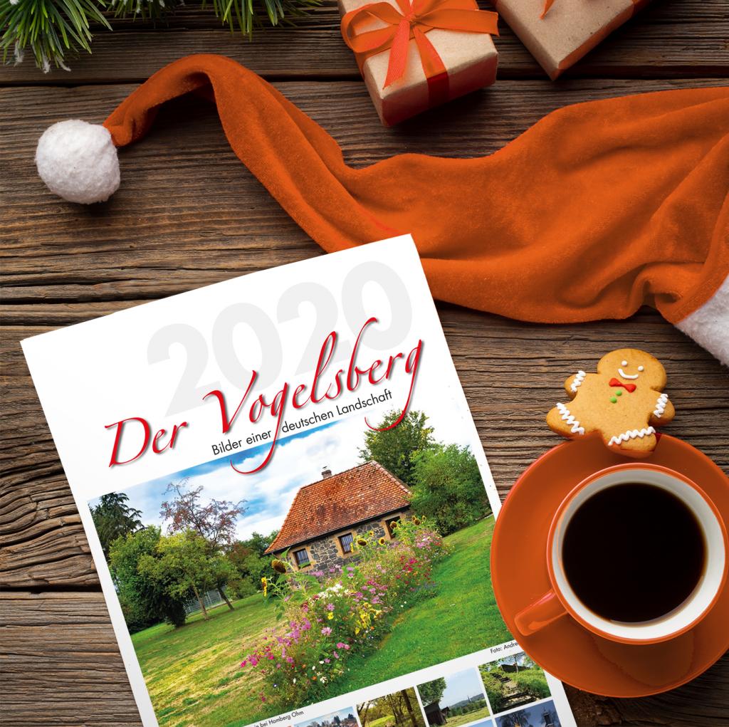 Verschenke einen Vogelsbergkalender 2020 zu Nikolaus