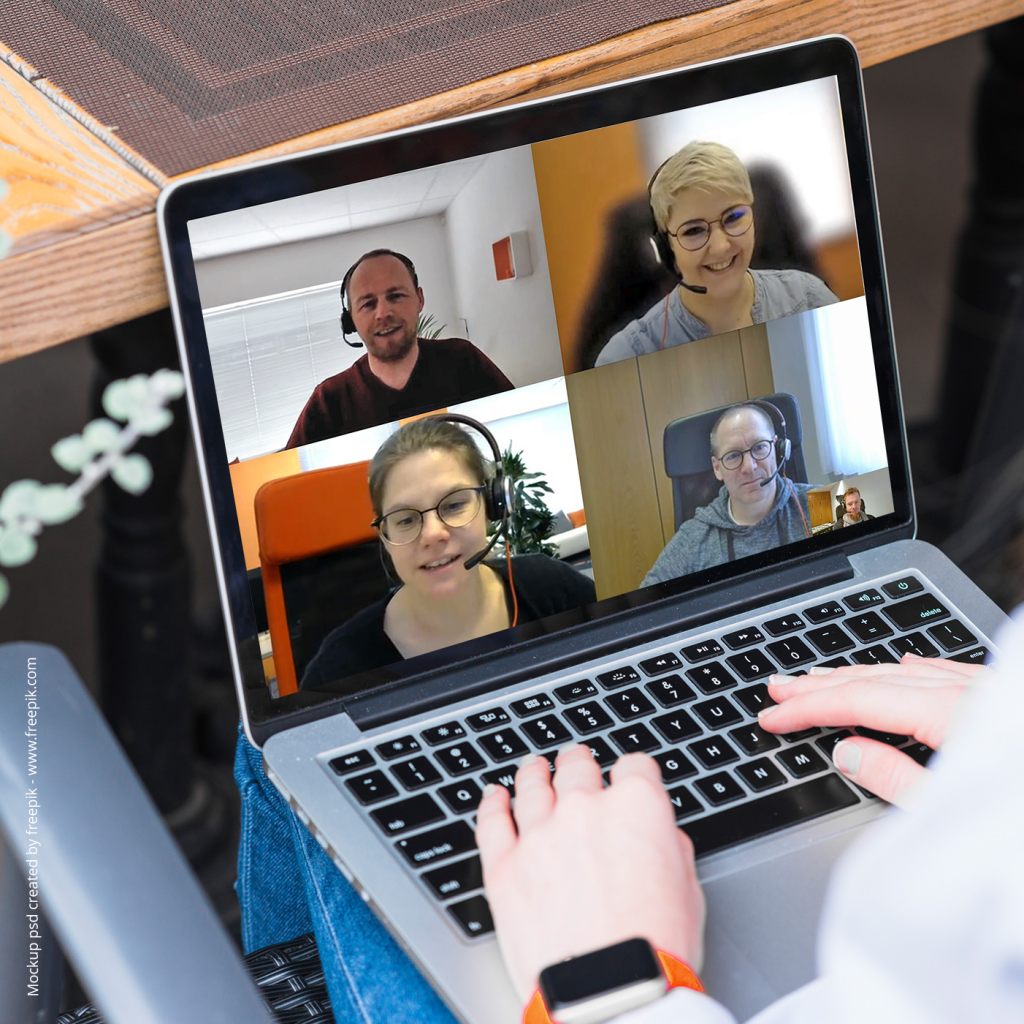 team digital - Digital Meetings & HomeOffice