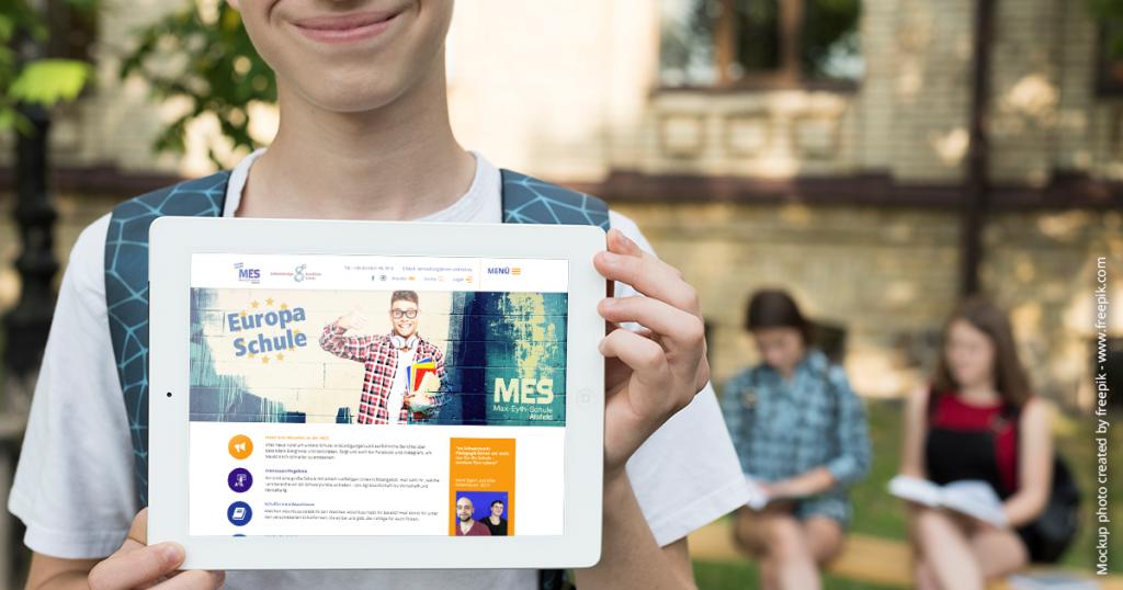 Neue Webseite der Max-Eyth-Schule in Alsfeld - by team digital