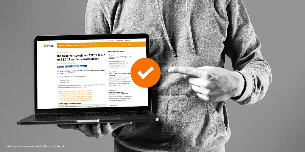 Neue Sicherheitsupdates von TYPO3 - Kein Problem mit Wartungsvertrag by team digital