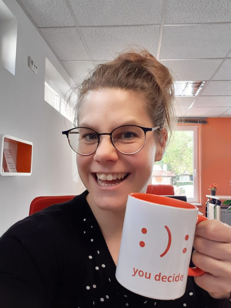 Ina Rehberger, Projektleitung Print, team digital