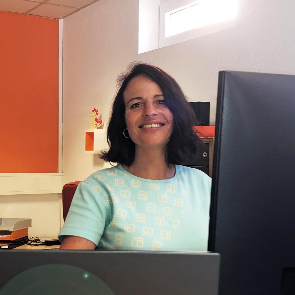 Christine Schenkel, Mediengestalterin bei team digital