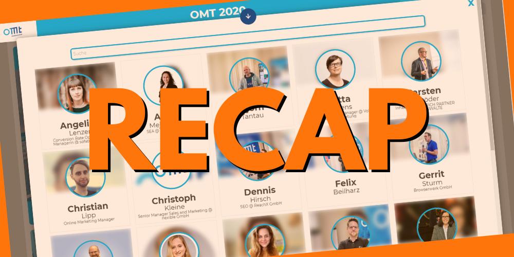 Recap OMT 2020